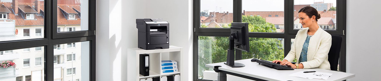 Kolorowa drukarka wielofunkcyjna - ABM System - wynajem kserokopiarek Warszawa